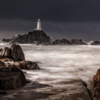 20-Corbiere Lighthouse-Christine Wood CPAGB BPE2¬