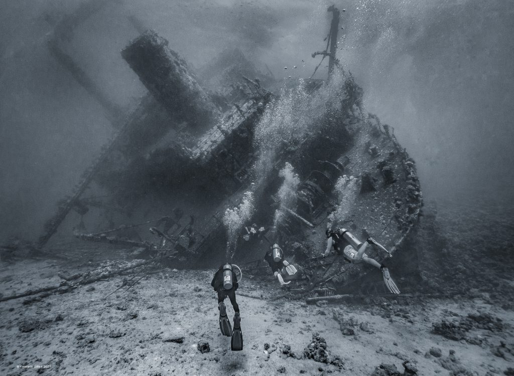 Exploring the Wreck